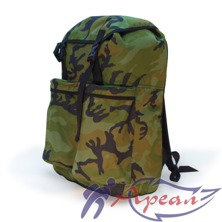 Рюкзак для охотников и рыболовов с дублированной спиной от компании Ареал плюс