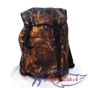 "Объемный фасадный карман рюкзака ""Дачный"""
