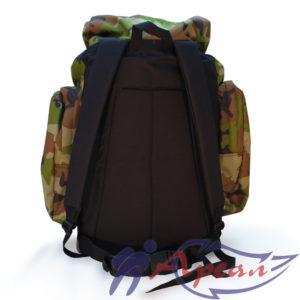 Рюкзак с укрепленной ппэ спинкой и поясом из стропы
