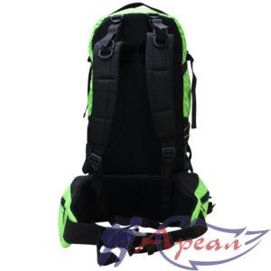 Дно рюкзака при увеличении объема превращается в поясничную часть пояса