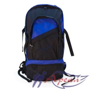 """Фасад рюкзака """"Вояж"""" имеет два кармана на молнии и место под логотип"""