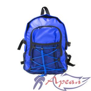 "Фасад со шнуровкой и сетчатым карманом рюкзака ""Сенсей"" от компании Ареал Плюс"