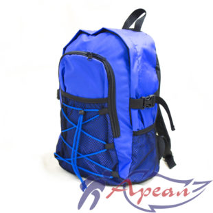 Городской рюкзак Сенсей с сетчатыми карманами и шнуровкой от компании Ареал Плюс