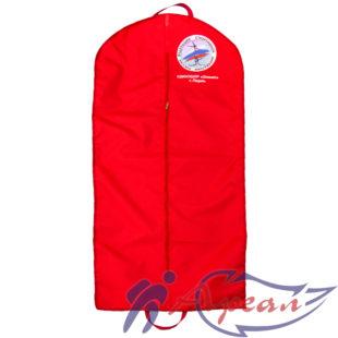 Удлиненный чехол для одежды с печатным логотипом