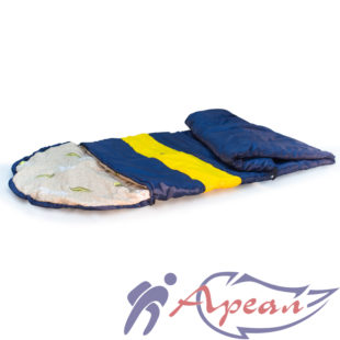 Спальный мешок с подголовником - капюшоном от компании Ареал плюс