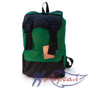Рюкзак гном с объемным фасадным карманом на молнии