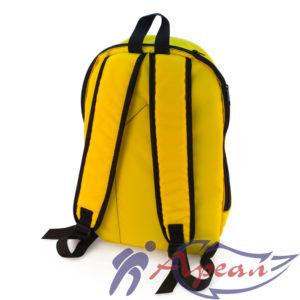 """Детский рюкзак на молнии с укрепленной спинкой от компании """"Ареал плюс"""""""