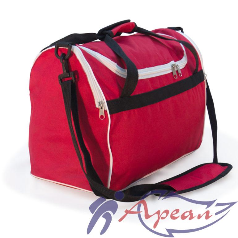 Спортивная сумка со съемнысм ремнем через плечо от компании Ареал плюс