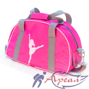 Женская спортивная сумка с широкими лямками