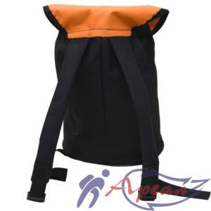 Спинка торбы с лямками на пряжках